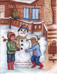 Kathy Boyd Fellure - Casewrap Snowman Book Cover RESIZED